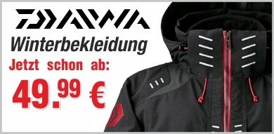 Daiwa Winterbekleidung im Angebot