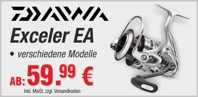 Daiwa Exceler EA Angelrollen